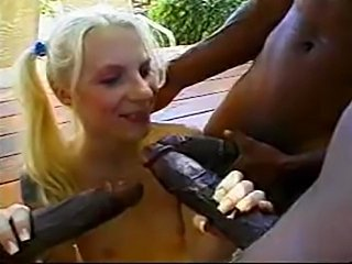 Little White Chicks... Big Black Monster Dicks